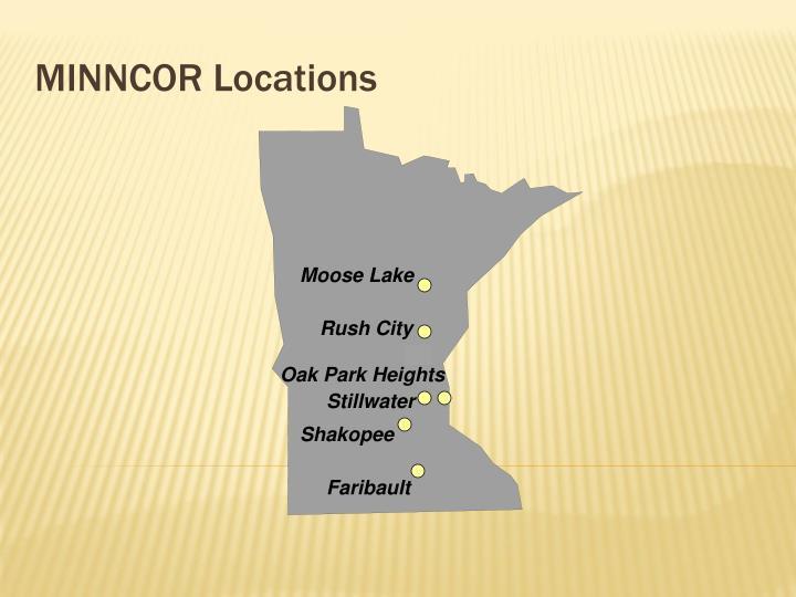 MINNCOR Locations
