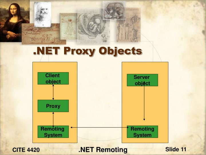 .NET Proxy Objects