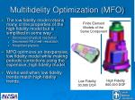 multifidelity optimization mfo