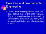 gwo civil and environmental engineering