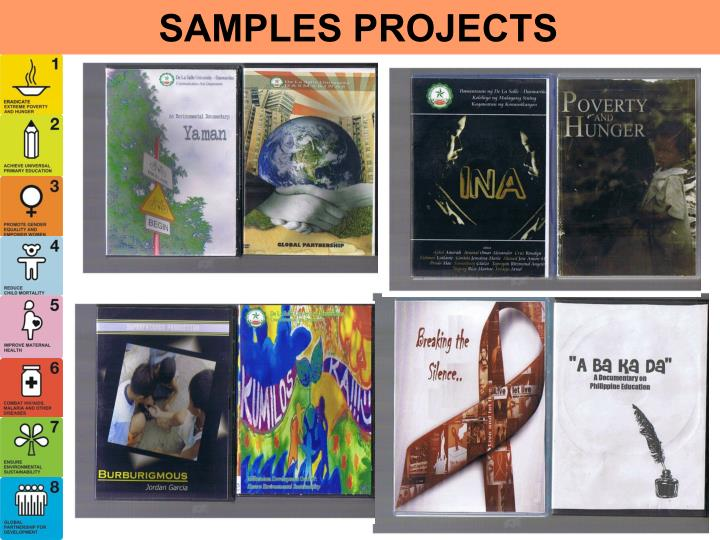 SAMPLES PROJECTS