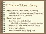 b northern telecom survey1