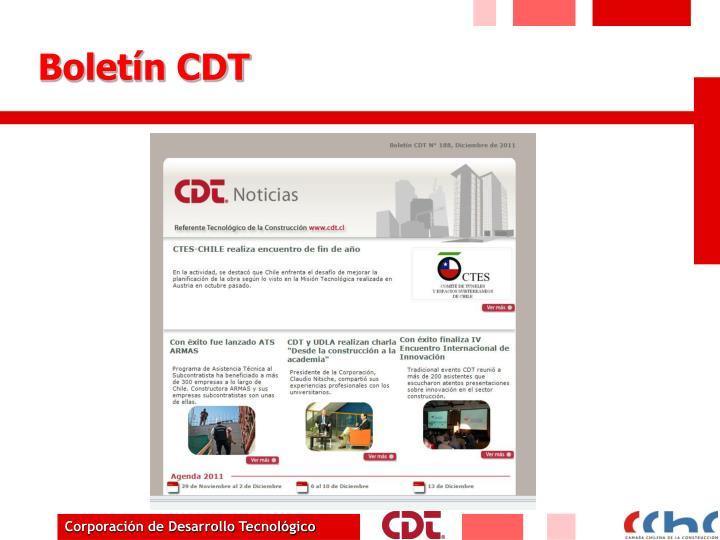 Boletín CDT