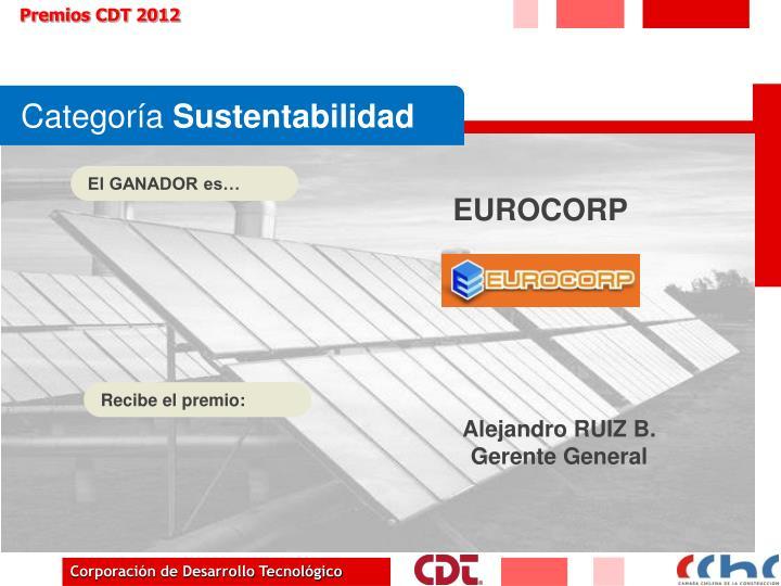Premios CDT 2012