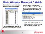 basic windows memory c watch