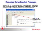 running downloaded program