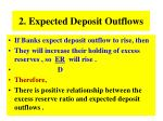 2 expected deposit outflows