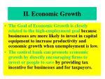 ii economic growth
