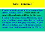 note continue