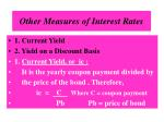 other measures of interest rates