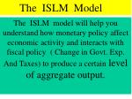 the islm model1