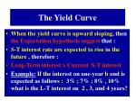 the yield curve1