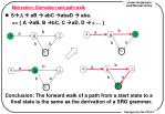 motivation derivation and path walk