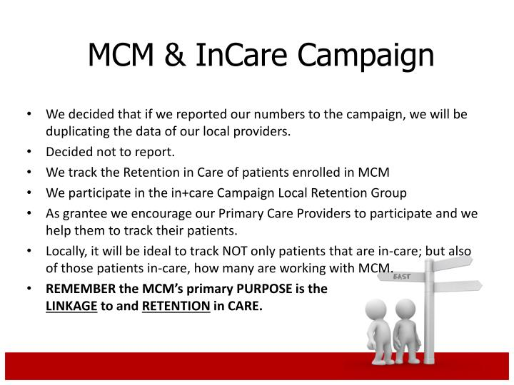 We decided that if we reported our numbers to the campaign, we will be duplicating the data of our local providers.
