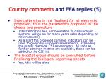 country comments and eea replies 5