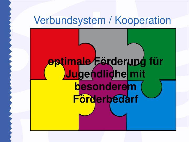 Verbundsystem / Kooperation