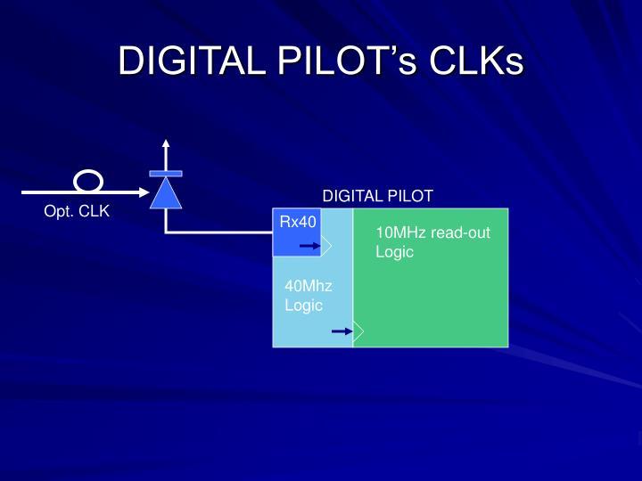 Digital pilot s clks