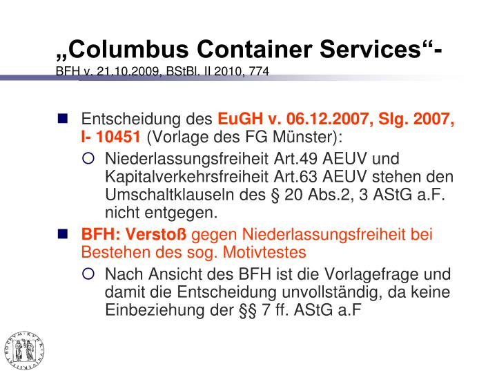 """Columbus Container Services""-"