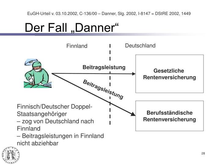 """Der Fall """"Danner"""""""