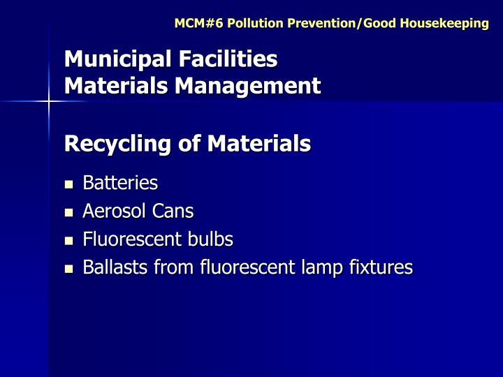 Municipal Facilities