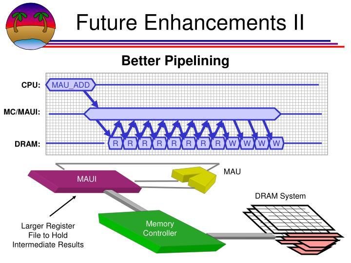 Future Enhancements II
