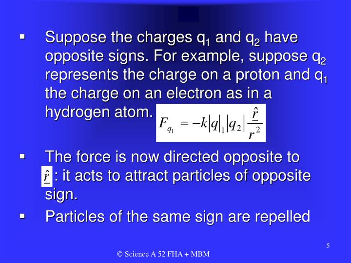 Suppose the charges q