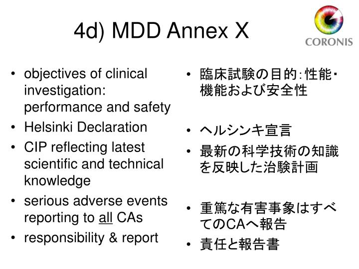 objectives of clinical investigation: performance and safety