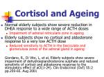 cortisol and ageing