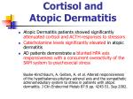 cortisol and atopic dermatitis