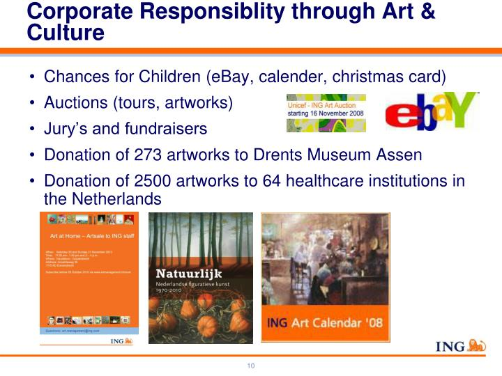 Corporate Responsiblity through Art & Culture
