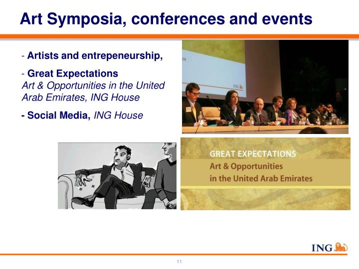 Art Symposia, conferences and events