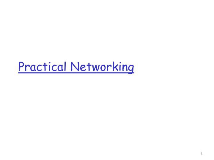 practical networking n.