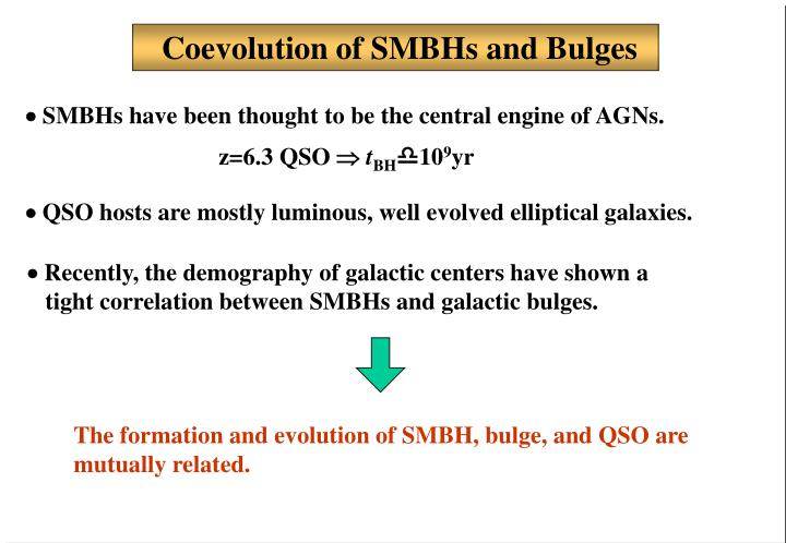 Coevolution of SMBHs and Bulges