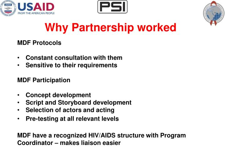 Why Partnership worked