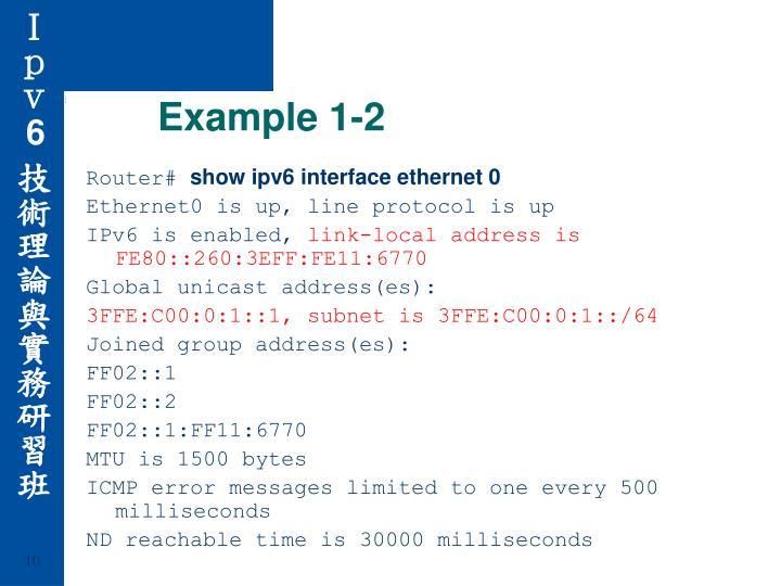 Example 1-2