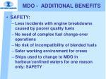 mdo additional benefits1