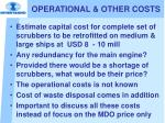 operational other costs