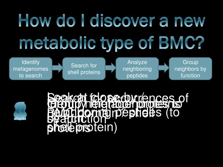 How do I discover a new metabolic type of BMC?
