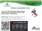 italian sustainable wine