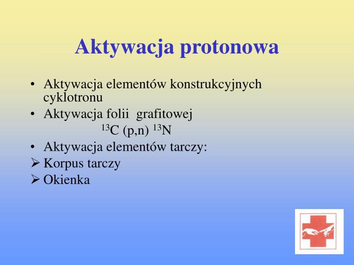 Aktywacja protonowa