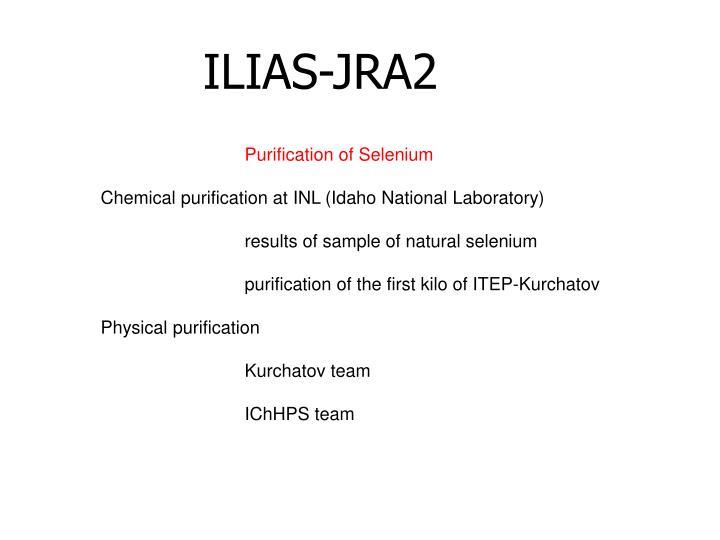 ILIAS-JRA2
