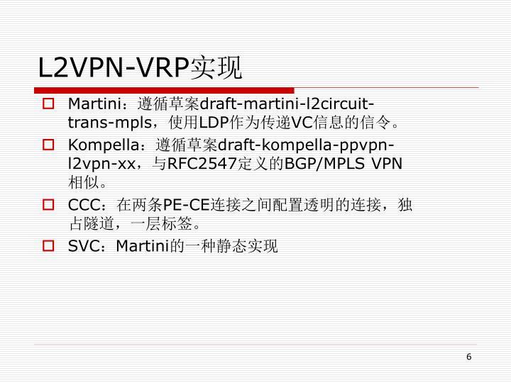 L2VPN-VRP