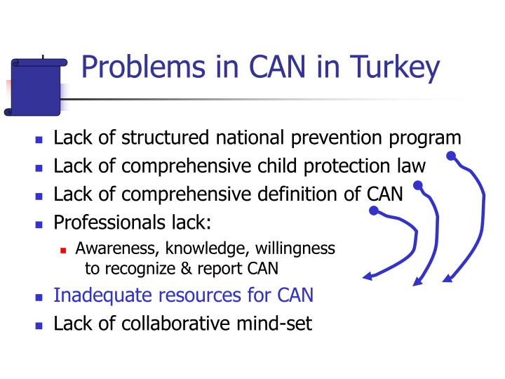 Problems in CAN in Turkey