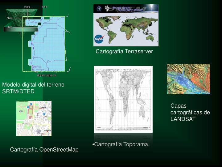 Cartografía Terraserver