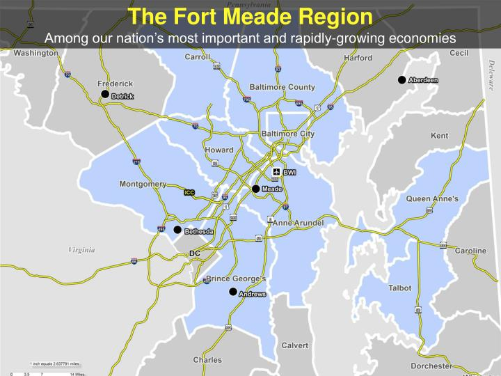 The Fort Meade Region