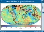 itg grace2010s gravity anomalies