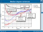 median degree variances2