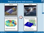 regional gravity field recovery1