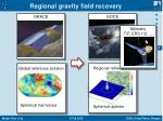 regional gravity field recovery2