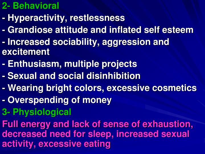 2- Behavioral